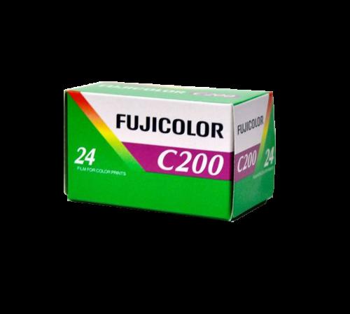 Fujicolor C200, 200 ISO, 24EXP