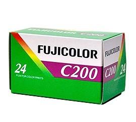 Película negativo color